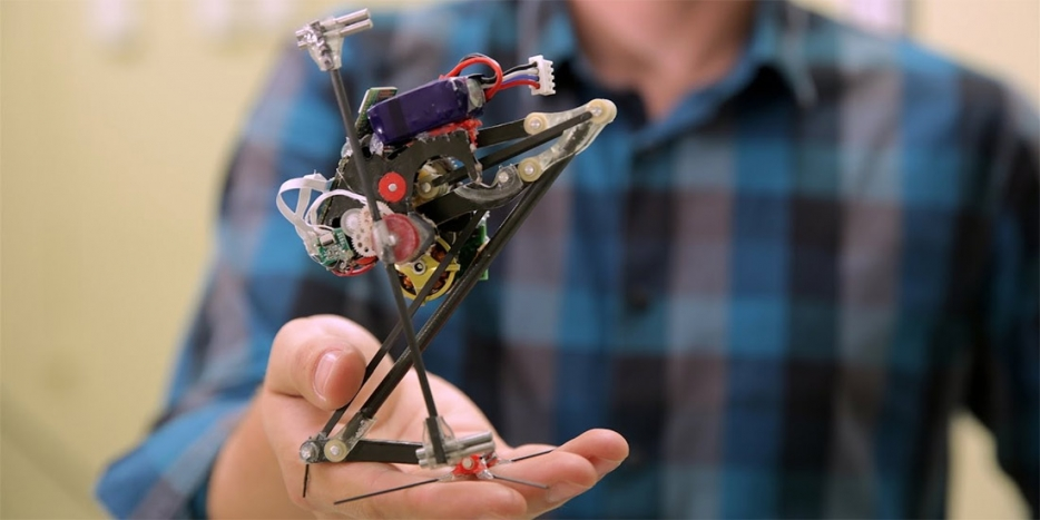 Thumbnail of video: SALTO - Berkeley's leaping robot