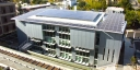 Jacobs Hall and its rooftop solar panels