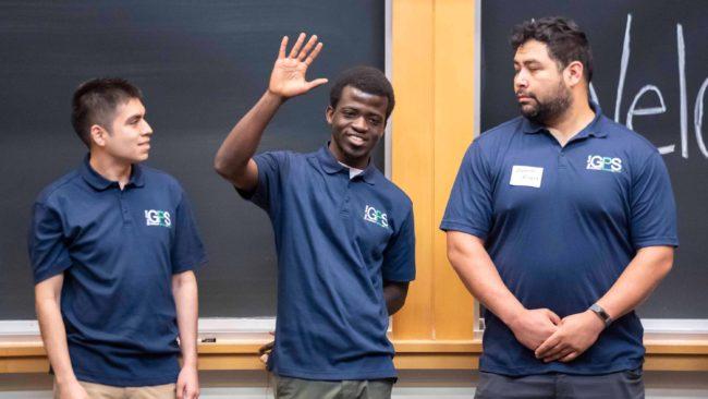 Graduate Pathways to STEM event at Berkeley