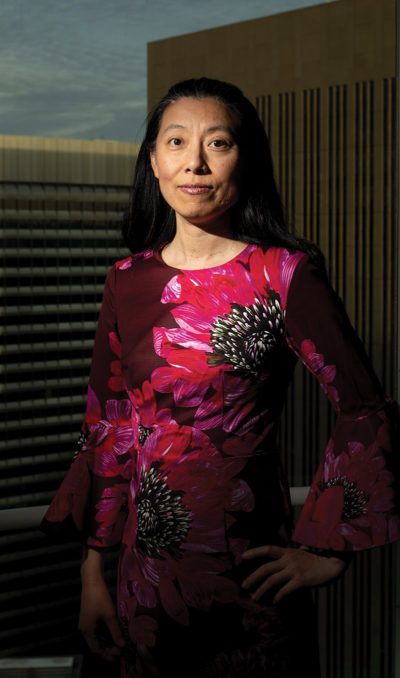 EECS professor Dawn Song