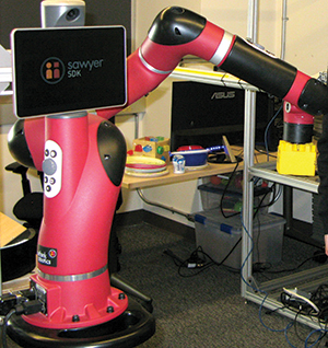 Robot in lab