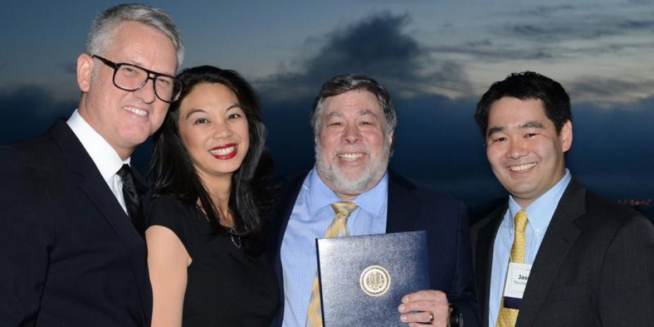 Alumnus of the Year Steve Wozniak