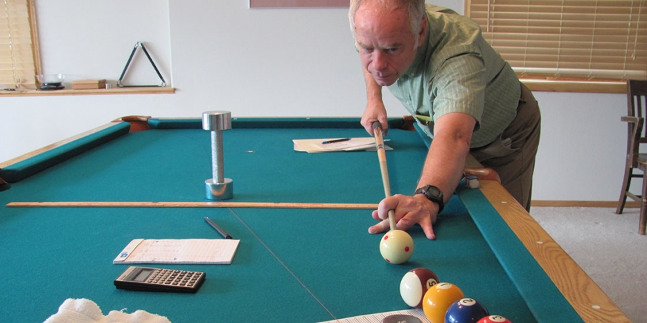 Bob Jewetts Double Life Berkeley Engineering - Cue master pool table